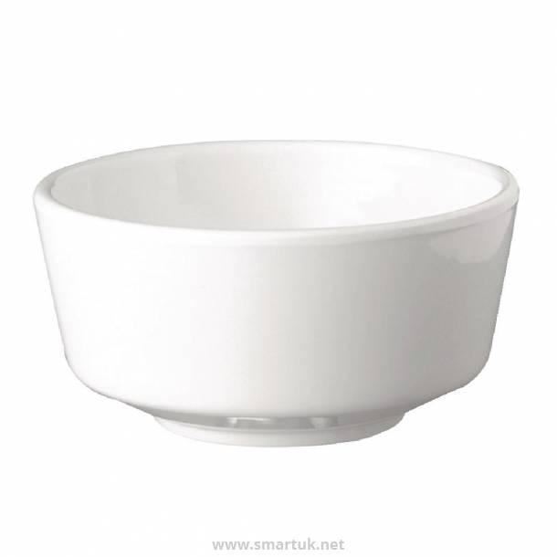APS Float White Round Bowl 8in
