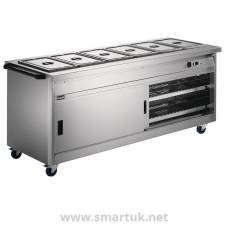 Lincat Panther Hot Cupboard and Bain Marie Top P8B6