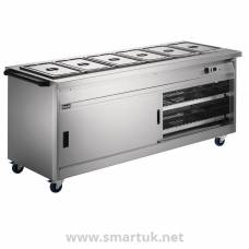 Lincat Panther Hot Cupboard and Bain Marie Top P8B6PT