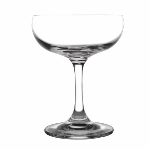 Olympia Bar Collection Crystal Champagne Saucers 220ml