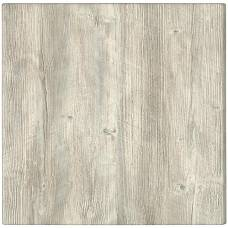 Werzalit Pre-drilled Square Table Top  Ponderosa White 600mm