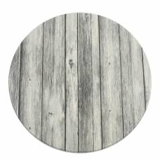 Werzalit Pre-drilled Round Table Top  Antique White 600mm