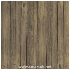 Werzalit Pre-drilled Square Table Top  Antique Brown 600mm
