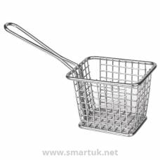 Olympia Chip basket Square with handle Small