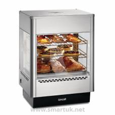 Lincat Seal Heated Double Door Merchandiser with Static Rack UMS50D