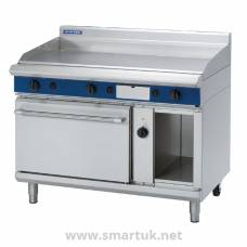Blue Seal Evolution LPG Chrome Griddle Electric Convection Oven 1200mm GPE58/L