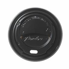 Black Domed Lids For Benders 225ml Disposable Super Insulated