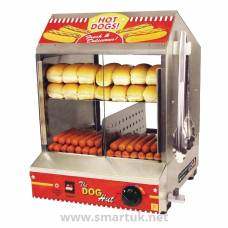JM Posner Dog Hut Hot Dog Steamer