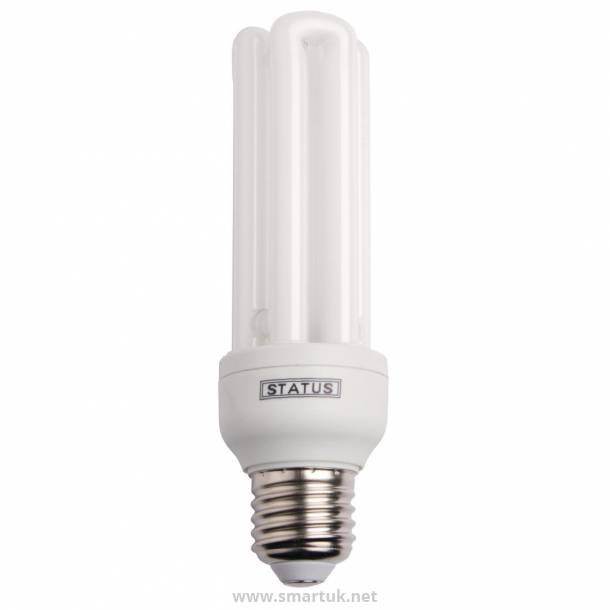 Status CFL Energy Saving Bulb Edison Screw 20W