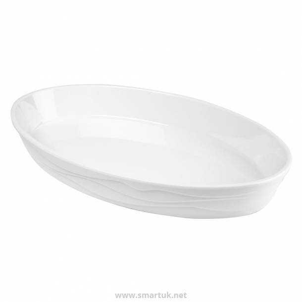 APS Classic Wave Oval Bowl 1.3Ltr