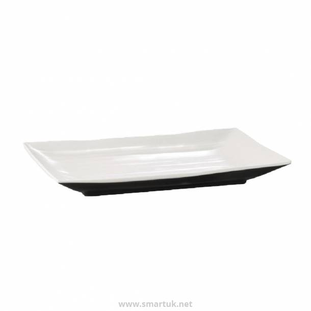 APS Dual Tone Rectangular Platter 13in