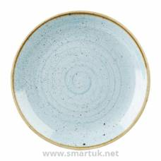 Churchill Stonecast Round Coupe Plate Duck Egg Blue 295mm