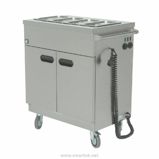 Parry Mobile Servery with Bain Marie Top 1894