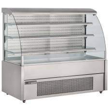 Foster 1500mm Wide 'Grab & Go' Open Front Display Chiller (304 st st ext/int)