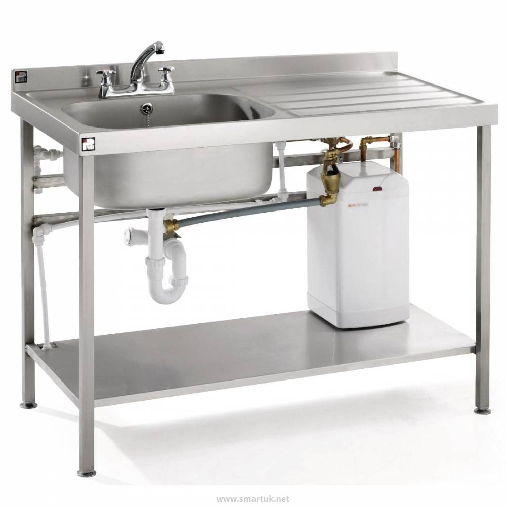f3c4fb416d Parry Stainless Steel Fully Assembled Sink Right Hand Drainer 1400mm by  Parry-GM999 - Smart Hospitality Supplies