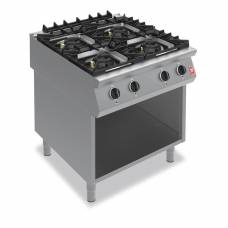 Falcon F900 Four Burner Boiling Hob on Fixed Stand Propane Gas G9084A