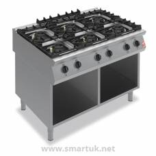Falcon F900 Six Burner Boiling Hob on Fixed Stand Propane Gas G90126