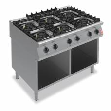 Falcon F900 Six Burner Boiling Hob on Fixed Stand Natural Gas G90126B