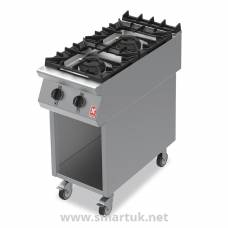 Falcon F900 Two Burner Boiling Hob on Mobile Stand Propane Gas G9042