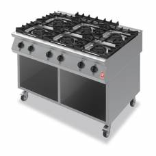 Falcon F900 Six Burner Boiling Hob on Mobile Stand Propane Gas G90126