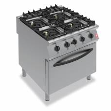 Falcon F900 Four Burner Oven Range on Legs Natural Gas G9184B