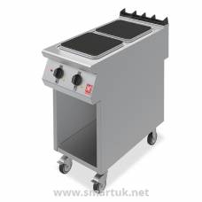 Falcon F900 Two Hotplate Boiling Top on Mobile Stand E9042