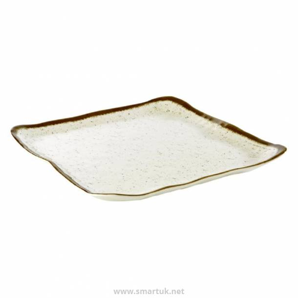 APS Stone Art Square Plate 330mm