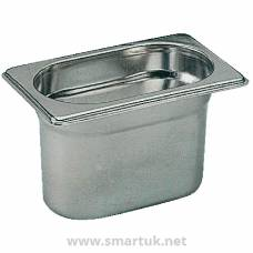 Bourgeat Stainless Steel 1/9 Gastronorm Pan 65mm