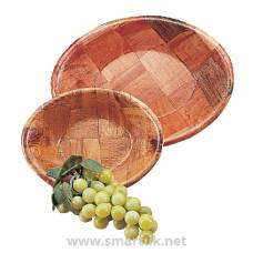 Oval Wooden Bowl Large