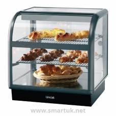 Lincat Seal 650 Curved Front Heated Display Unit C6H/75S
