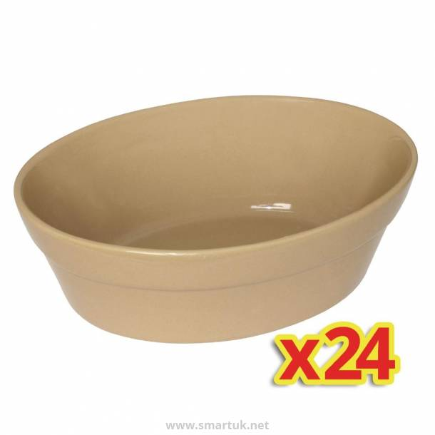 Special Offer - 4x Box of 6 Olympia Oval Pie Bowls Large