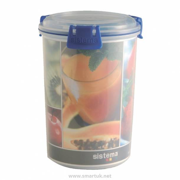 Sistema Klip It Storage Container Round 1Ltr