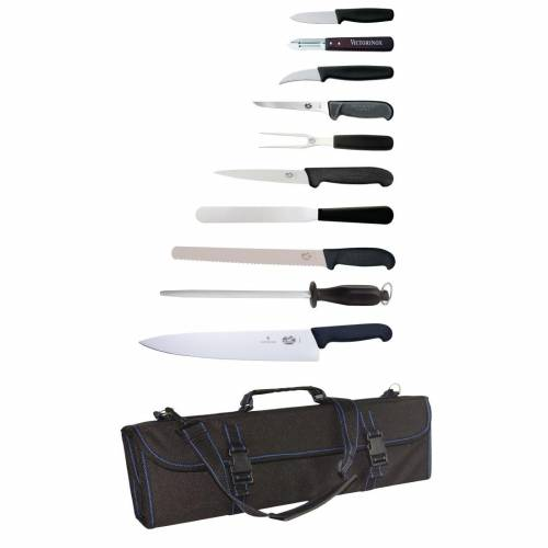 Victorinox 11 Piece Knife Set with Wallet