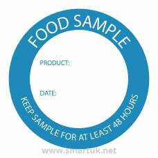 Food Sample Labels