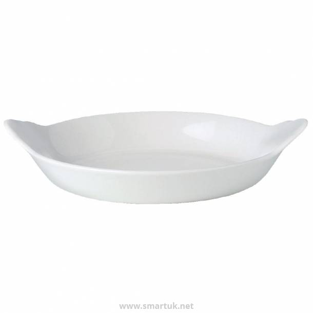 Steelite Simplicity Cookware Round Eared Dishes 165mm