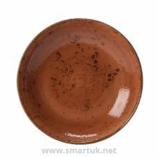 Steelite Craft Terracotta Coupe Bowls 215mm