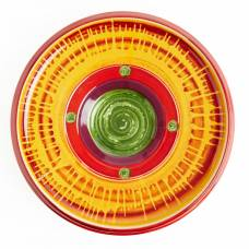 Steelite Hot Cha Cha Round Melamine Platter 475mm