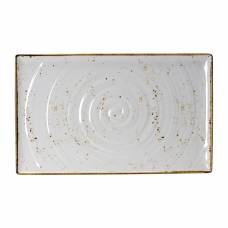 Steelite Craft White Melamine GN 1/1 Rectangular Platter 530mm