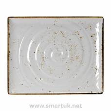 Steelite Craft White Melamine GN 1/2 Rectangular Platter 325mm