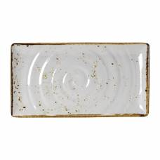 Steelite Craft White Melamine GN 1/3 Rectangular Platter 325mm