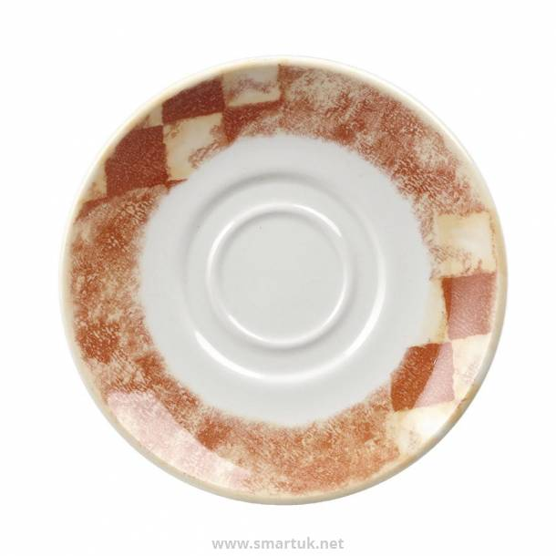 Churchill Tuscany Maple Saucers 125mm