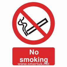 PVC No Smoking Symbol Sign