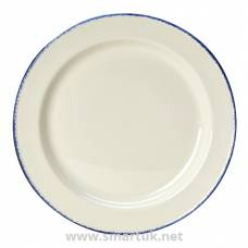 Steelite Blue Dapple Slimline Plates 157mm