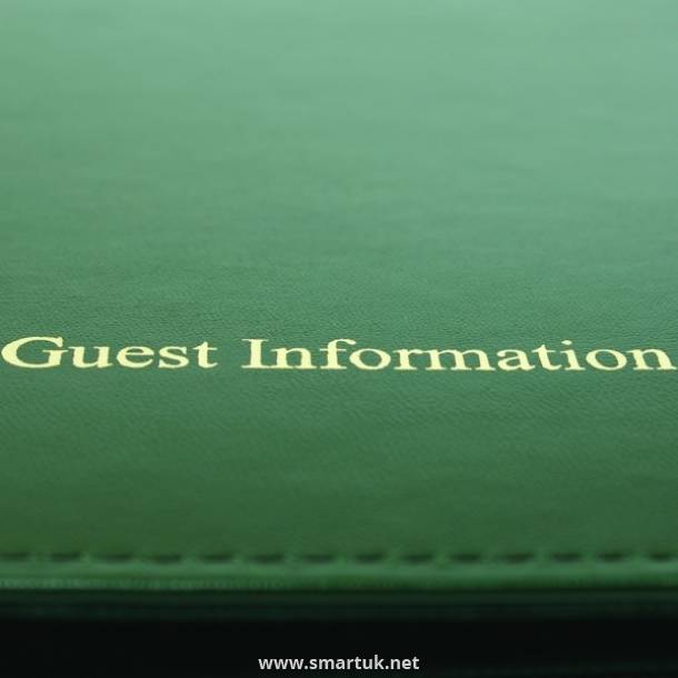Minister Guest Room Folders
