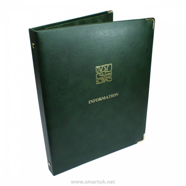Real Leather Guest Room Folders