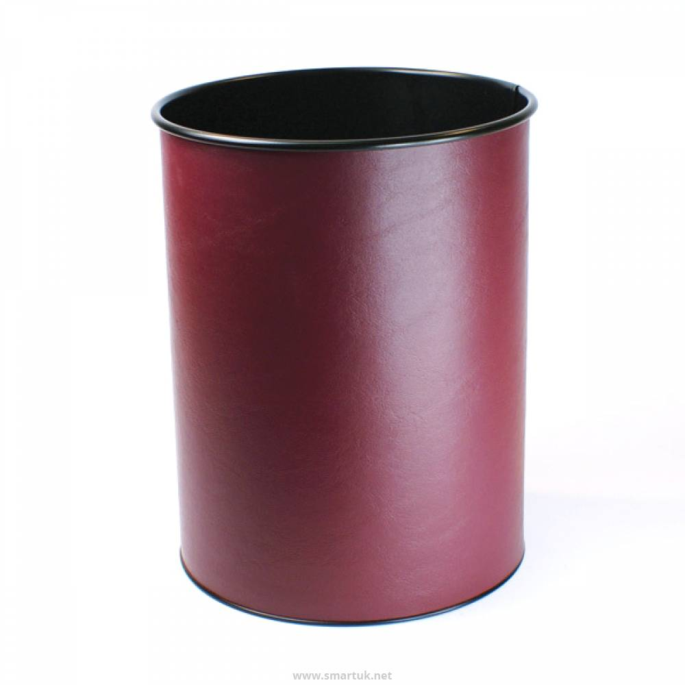 Bonded Leather Waste Paper Bins Smart Hospitality Supplies