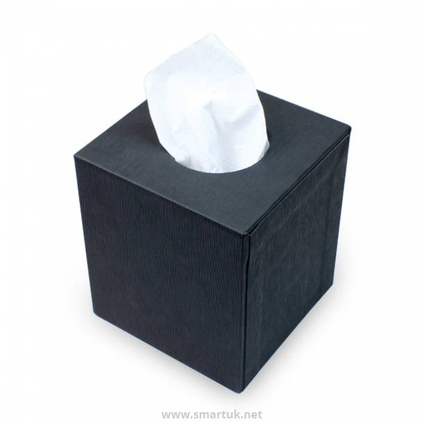 Material Covered Tissue Boxes