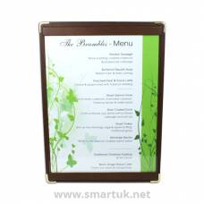 Hydra Leather Menu Boards