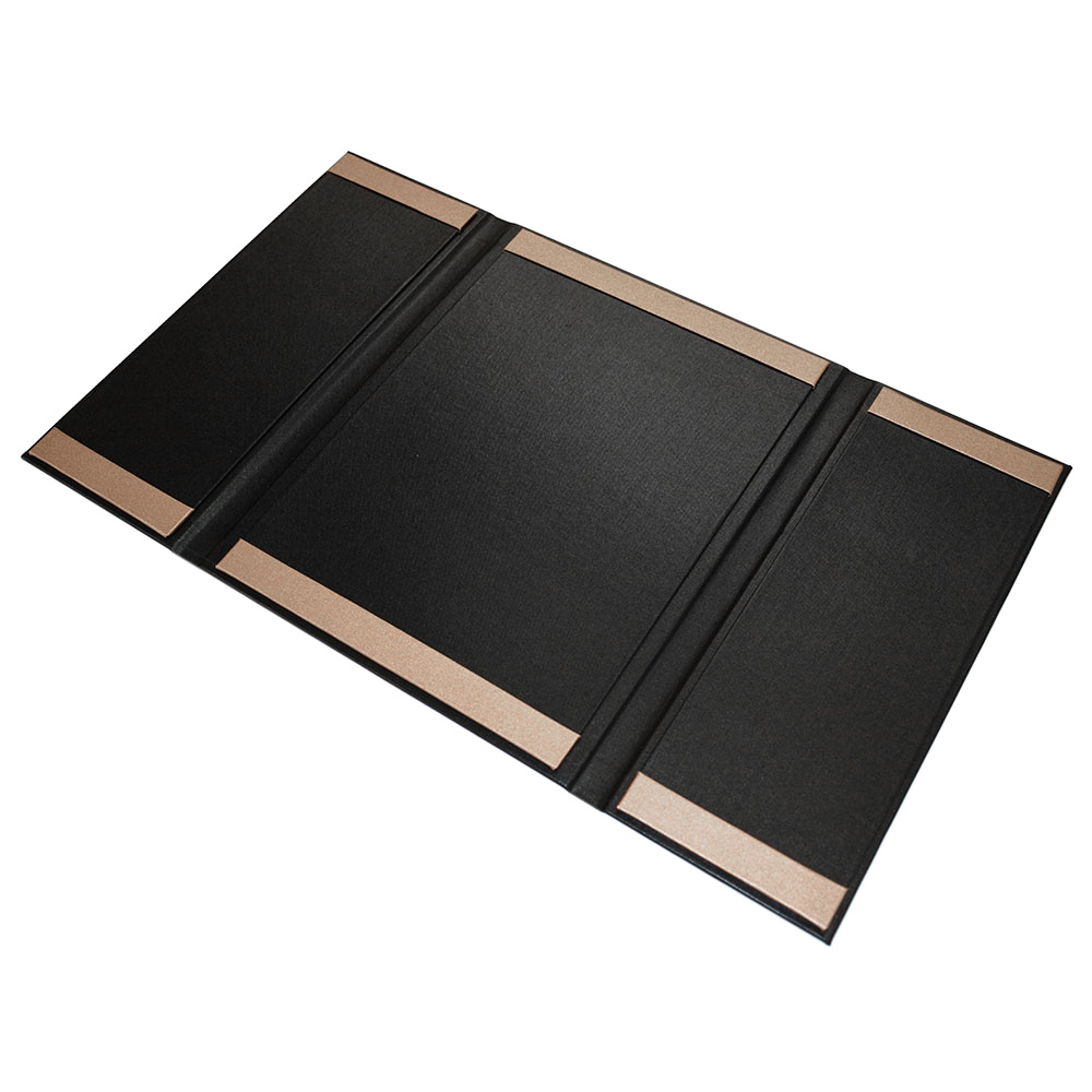 Buckram Gate Fold Menu Covers Smart Hospitality Supplies