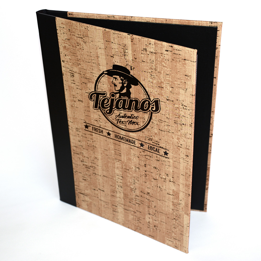 Cork Menu Covers Smart Hospitality Supplies